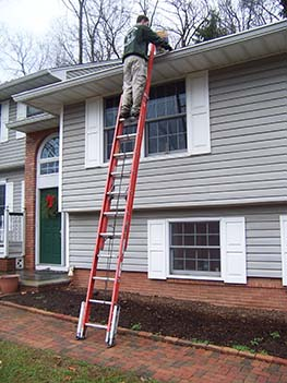 Crosby Gutter Cleaning