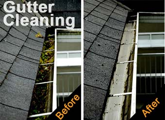 Crosby TX Gutter Cleaning