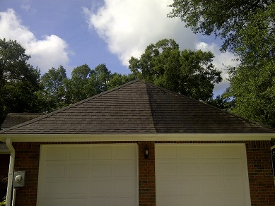 Garage Roof Cleaning Crosby